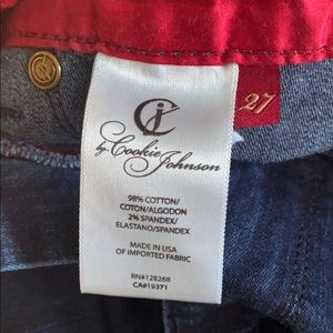 cookie Johnson Jeans - Blue stretch jeans size 27 skinny